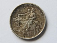1925 Commemorative Stone Mountain Half Dollar US Coin Featured in our upcoming auction on November 2, 2015 11:00AM EST!