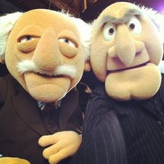 Jim Henson, Les Muppets, Statler And Waldorf, Selfies, Muppets Most Wanted, Sesame Street Muppets, Comedy, Fraggle Rock, The Muppet Show