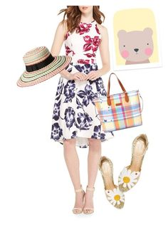 """""""dress"""" by masayuki4499 ❤ liked on Polyvore featuring Maggy London, Charlotte Olympia, Kate Spade and Ralph Lauren"""