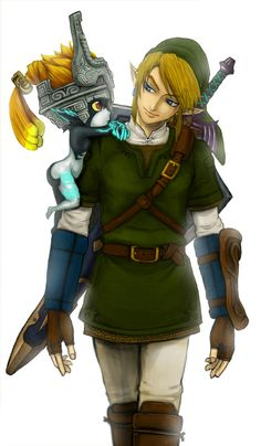 Link and Minda ~ Twilight Princess