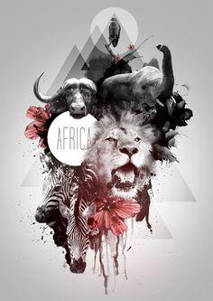 AFRICA DIGITAL ARTWORK (www.valentinedesign.co.za)