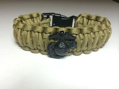 Marine Corps Olive Drab Paracord Bracelet King Cobra By Paracordlinks On Etsy