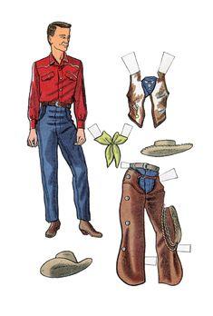 Rocky Paper Dolls | Free Patterns | Yarn~ Cowboy 2