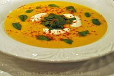 cool carrot soup