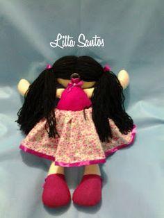 Boneca 40cm - encomenda da Rita de Cássia
