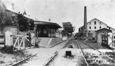 Morpeth Railway Station in New South Wales (year unknown) •Australian Railway Historical Society Railway Resource Centre•