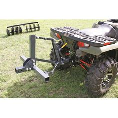 Sportsman's Guide has your Guide Gear Implement Lift System available at a great price in our ATV Implements collection Tractor Accessories, Atv Accessories, Atv Gear, Atv Trailers, Homestead House, Tractor Implements, Tractor Attachments, Old Farm Equipment, Farm Tools