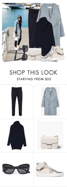 """How I'll Wear My Hightops - Blogger Style..."" by hattie4palmerstone ❤ liked on Polyvore featuring Alexander McQueen, Zara, MANGO, Dolce&Gabbana and Golden Goose"