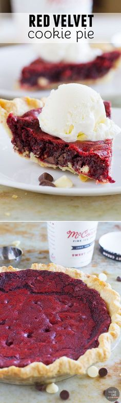 http://tasteandtellblog/red-velvet-cookie-pie-recipe/