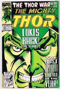 The Mighty Thor #441 Comic Book