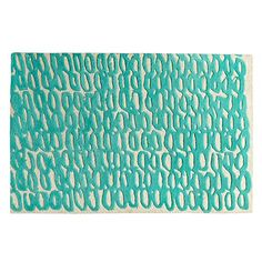Petite Loop Rug: (Could do a hook version of this with each loop being a different reclaimed fabric)