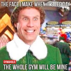 When It's Leg Day, The Whole Gym Will Be Mine Visit our new website ->…
