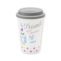 "Becher-to-go ""Eule"" http://sheepworld.de/shop/my-beautytree/my-beautytree-Eule/Becher-to-go-Eule.html?listtype=search&searchparam=eule"