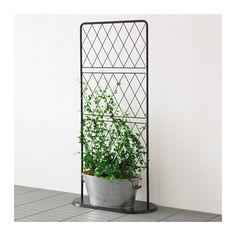 Socker kukkalaatikko ja teline ikea tarkoitettu for Ikea barso trellis