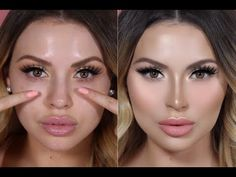 Fake A Nose Job with Contouring & Special Giveaway| Jadeywadey180
