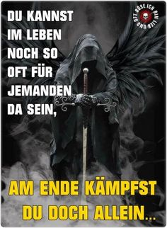German Quotes, Truth Of Life, Life Humor, Dark Fantasy, Dark Side, Vikings, Slogan, Mystic, My Books