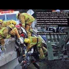 To honor all firefighters and emergency services professionals....Thank you!    (Special love Marc)