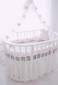 modern baby bed design ideas for nursery furniture sets 2019 Modern Baby Bedding, Baby Bedding Sets, Baby Bedroom, Baby Room Decor, Baby Boy Nurseries, Baby Cribs, Girl Nursery, Girl Room, Nursery Sets