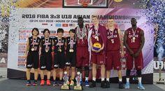 CYBERJAYA (2016 FIBA 3x3 U18 Asian Championships) - Japan's women and Qatar's men won the second edition of the FIBA 3x3 U18 Asian…