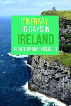Looking for things to do with 10 days in Ireland? Check this post for a detailed roadtrip itinerary, plus directions from place to place. Includes all the main sights such as Dublin, Ring of Kerry, Cliffs of Moher, and Blarney Castle.