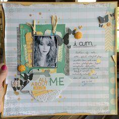 All About Me i am... - Scrapbook.com