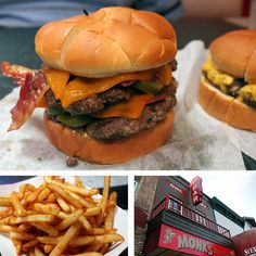 Monk's Burger, Wisconsin Dells, WI.