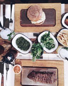 Dinner in London.