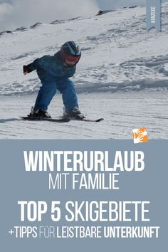 Winterurlaub mit Familie: Die 5 besten Skigebiete + ideale Unterkunft mit BestFewo [Advertising] Winter holiday with family: skis and ski boots are almost packed. We will tell you about our 5 top dest Switzerland In Winter, Visit Switzerland, Winter Baby Clothes, Baby Winter, Best Ski Resorts, Best Skis, Ski Boots, Top Destinations, Christmas Vacation