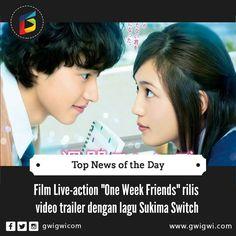FILM LIVE-ACTION ONE WEEK FRIENDS RILIS VIDEO TRAILER DENGAN MENAMPILKAN LAGU SUKIMA SWITCH  Situs resmi dari film live-action dari manga karya Matcha Hazuki berjudul One Week Friends (Isshūkan Friends) merilis trailer film ini. Video ini memperdengarkan lagu tema berjudul Kanade for Isshūkan Friends dari Sukima Switch. Baca artikel lebih lengkapnya disini yuk  http://ift.tt/2fMniKF #love #tweegram #photooftheday #amazing #followme #picoftheday #cute #summer #me #instadaily #instafollow…
