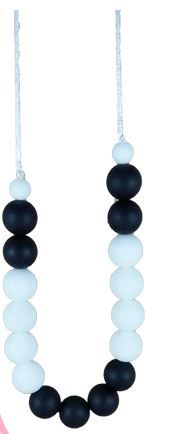 #1 Must Have for New Mums Silicone Teething/Nursing Necklace Extends feeding time, gives baby focal point