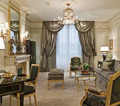 Hotel palace Le Crillon Paris decodesign / Décoration