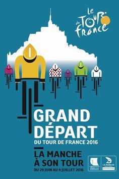Der Grand Départ der Tour de France 2016 findet bei Mont-Saint-Michel im Départment Manche im Nordwesten Frankreichs statt. Christian Prudhomme vom Tour-Veranstalter ASO hat damit der belgischen Gemeinde Oudenaarde eine klare Absage erteilt. Nach Ausflügen auf die britische Insel (2014) und in die Niederlande (2015) startet die Tour wieder im Mutterland. Die berühmte Insel von Mont-Saint-Michel mit ihrer markanten Benediktinerabtei wird 2016 als Kulisse für die Auftaktetappe der Tour dienen.