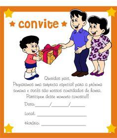 40 Convites Para Reunião de Pais continue vendo...