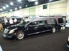 2013 Cadillac XTS hearse by CasketCoach on Flickr.
