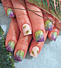 peacock nails - you need to do these @Kenzie Iocco