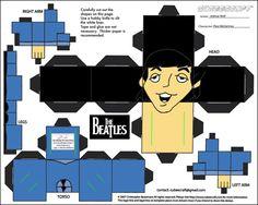 Beatles printable--get all four at jdgonemad.net