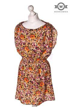 >> #Bluzka / #tunika w piękny kwiatowy motyw Wzorcownia online - #Wzorcownia online   #Atmosphere