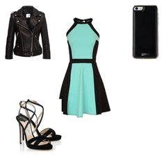 """Untitled #274"" by dancerlove7 ❤ liked on Polyvore featuring Anine Bing, Jimmy Choo and Gooey"