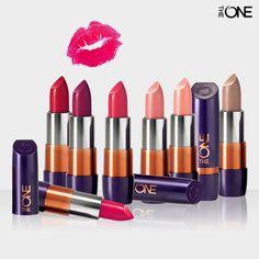 Labial The One Todo el color y protección en tus labios www.facebook.com/AleSalasmx #Oriflame