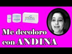 Decolorandome el rostro!!! Con Andina - YouTube