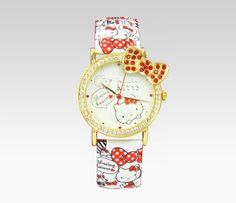 Hello Kitty Wristwatch: Sharing Hearts    NEW  $120.00