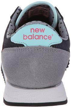 2b72585558b9 New Balance Womens CW620 Capsule Street Beat Classic Running Shoe  Black Pink 10.5 B US