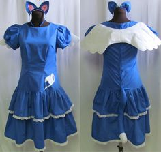 Hey, I found this really awesome Etsy listing at https://www.etsy.com/listing/185003082/fairy-tail-happy-lolita-cosplay-costume