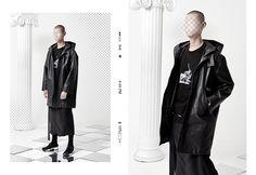 "ANTIMATTER's 2017 Spring/Summer Lookbook ""Uncanny"""
