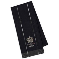 Crown De France Embroidered Dishtowel..073