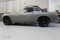 MGB RRC Grey - by RR Classic Mg Midget, Mg Cars, Classic Sports Cars, Cars And Motorcycles, Antique Cars, Automobile, Trucks, Grey, Vehicles