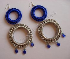 Summer crochet earrings....