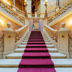 background stairs backdrop studio luxury indoor backdrops palace carpet stair living backgrounds props vinyl purple flag scenery scene lfeey ceremony