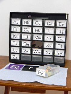 A DIY Mini Montessori Alphabet Box is an affordable way to create a hands-on learning tool to help your preschooler learn the letters and sounds of the alphabet.