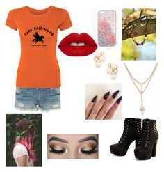 Designer Clothes, Shoes & Bags for Women Aphrodite Cabin, Percy Jackson Outfits, Camp Jupiter, Half Blood, True Religion, Anne Klein, Lime Crime, Camping, Polyvore
